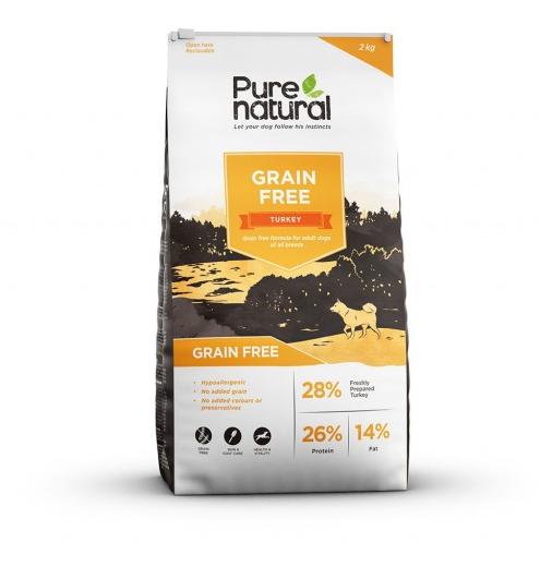 Pure Natural spannmålsfritt hundfoder